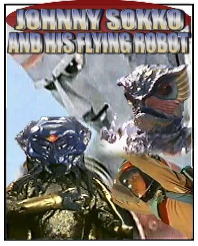 Johnny Sokko Giant Robot ALL 26 Episodes + Movie 8 DVD SET